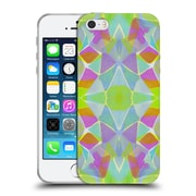 OFFICIAL AMY SIA KALEIDOSCOPE Chroma Lime Soft Gel Case for Apple iPhone 5 / 5s / SE (C_D_1AB62)