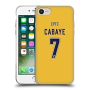 Official Crystal Palace FC 2016/17 Players Away Kit Yohan Cabaye Soft Gel Case for Apple iPhone 7 (C_1F9_1E63B)