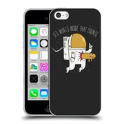 Official DINOMIKE FUN ILLUSTRATIONS Space Sucks Soft Gel Case for Apple iPhone 5c (C_E_1BB22)