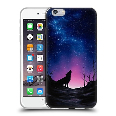 Official CHUCK BLACK CANINE Starry Nights Soft Gel Case for Apple iPhone 6 Plus / 6s Plus (C_10_1AE88)