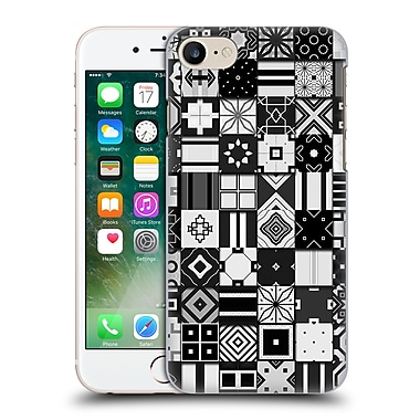 OFFICIAL GIULIO ROSSI PATCHWORK Black & White Hard Back Case for Apple iPhone 7 (9_1F9_1D8D4)