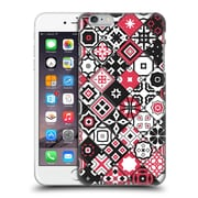 OFFICIAL GIULIO ROSSI PATCHWORK Red Hard Back Case for Apple iPhone 6 Plus / 6s Plus (9_10_1D8D0)