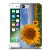 Official DARREN WHITE WILD FLOWER Plants and Blooms Sunny Side Up Soft Gel Case for Apple iPhone 7 (C_1F9_1B1E2)
