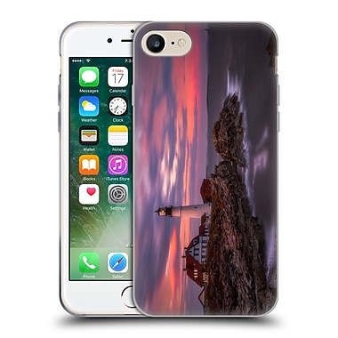 Official Darren White Sunrises and Sunsets Portland Head Soft Gel Case for Apple iPhone 7 (C_1F9_1B1DB)