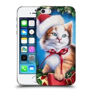 Official Christmas Mix Pets Jenny Newland Kitty Soft Gel Case for Apple iPhone 5 / 5s / SE (C_D_1D398)
