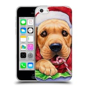 Official Christmas Mix Pets Jenny Newland Santa? Soft Gel Case for Apple iPhone 5c (C_E_1D39A)