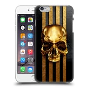 OFFICIAL GIULIO ROSSI SKULLS Golden 2 Hard Back Case for Apple iPhone 6 Plus / 6s Plus (9_10_1BCCC)