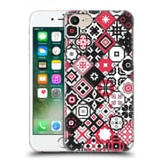 OFFICIAL GIULIO ROSSI PATCHWORK Red Hard Back Case for Apple iPhone 7 (9_1F9_1D8D0)