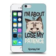 OFFICIAL GRUMPY CAT GRUMPMOJI Patience Hard Back Case for Apple iPhone 5 / 5s / SE (9_D_1CC0E)