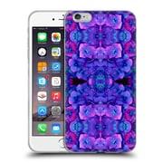 OFFICIAL AMY SIA FLORAL Future Blue Soft Gel Case for Apple iPhone 6 Plus / 6s Plus (C_10_1AC26)