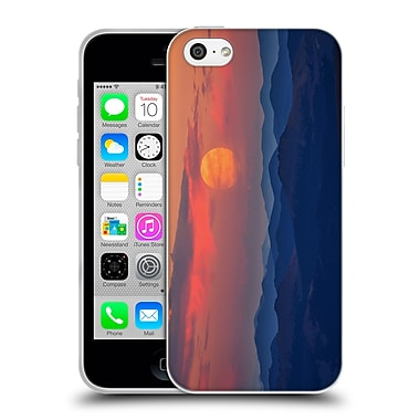 OFFICIAL DARREN WHITE SUNRISES AND SUNSETS Supermoon Soft Gel Case for Apple iPhone 5c (C_E_1B1DE)