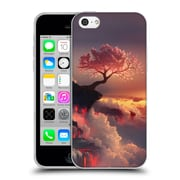 Official Daniel Conway Cherry Blossoms Scorched Earth Soft Gel Case for Apple iPhone 5c (C_E_1C2C1)
