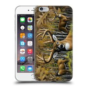 Official CHUCK BLACK DEER FAMILY Whitetail Country Soft Gel Case for Apple iPhone 6 Plus / 6s Plus (C_10_1AE8C)