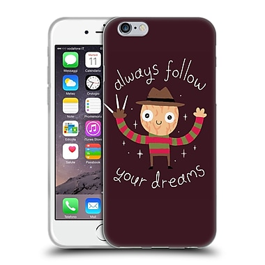 Official DINOMIKE FUN ILLUSTRATIONS Always Follow Your Dreams Soft Gel Case for Apple iPhone 6 / 6s (C_F_1BB1A)