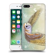 OFFICIAL VIN ZZEP BIRDS Barn Owl Labrynth Hard Back Case for Apple iPhone 7 Plus (9_1FA_1E239)