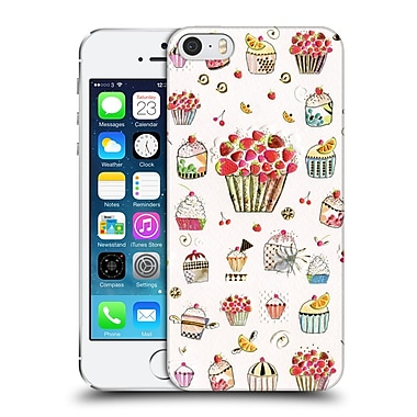 OFFICIAL TURNOWSKY TANGERINE ZEBRA Frosting Feast Hard Back Case for Apple iPhone 5 / 5s / SE (9_D_1CEA3)