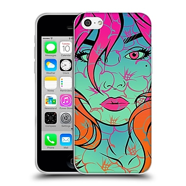 Official Daniel Conway Flower Pop Bloom Soft Gel Case for Apple iPhone 5c (C_E_1C2C3)