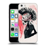 OFFICIAL ALI GULEC WITH A TWIST Punk Soft Gel Case for Apple iPhone 5c (C_E_1BD6B)