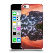 OFFICIAL DARREN WHITE REFLECTION Maroon Bells Alpenglow Soft Gel Case for Apple iPhone 5c (C_E_1B1CF)