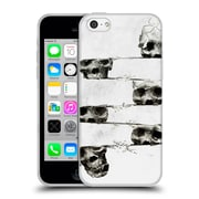 OFFICIAL ALI GULEC WITH A TWIST Skull Soft Gel Case for Apple iPhone 5c (C_E_1BD6D)