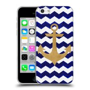 OFFICIAL ARTPOPTART CHEVRON Anchor Soft Gel Case for Apple iPhone 5c (C_E_1A220)
