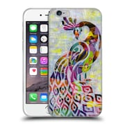 OFFICIAL ARTPOPTART ANIMALS Peacock Soft Gel Case for Apple iPhone 6 / 6s (C_F_1A21F)