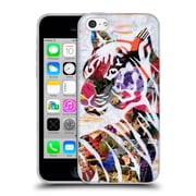 OFFICIAL ARTPOPTART ANIMALS Tiger Soft Gel Case for Apple iPhone 5c (C_E_1A217)