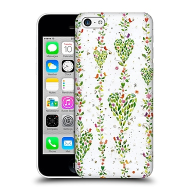 OFFICIAL TURNOWSKY BOLD BEAUTIFUL Leaves Of Love Hard Back Case for Apple iPhone 5c (9_E_1CE29)