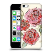 OFFICIAL TURNOWSKY BLACK DIAMONDS A Rose Is A Rose Is A Rose Hard Back Case for Apple iPhone 5c (9_E_1CE5D)