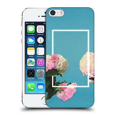OFFICIAL THE 1975 KEY ART Roses Blue Hard Back Case for Apple iPhone 5 / 5s / SE (9_D_1DB4D)