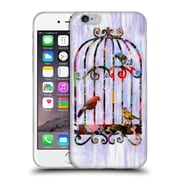 OFFICIAL ARTPOPTART COLLAGE Bird Cage Soft Gel Case for Apple iPhone 6 / 6s (C_F_1A236)