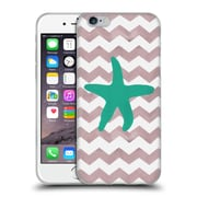 OFFICIAL ARTPOPTART CHEVRON Starfish Soft Gel Case for Apple iPhone 6 / 6s (C_F_1A222)