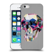 OFFICIAL ARTPOPTART POP CULTURE Skull Soft Gel Case for Apple iPhone 5 / 5s / SE (C_D_1A22D)