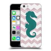 OFFICIAL ARTPOPTART CHEVRON Seahorse Soft Gel Case for Apple iPhone 5c (C_E_1A221)
