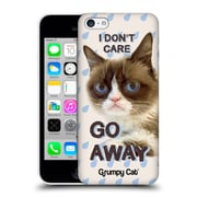 OFFICIAL GRUMPY CAT QUOTES Go Away Hard Back Case for Apple iPhone 5c (9_E_1CC1E)