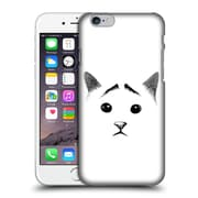 OFFICIAL TUMMEOW CATS IN BLACK AND WHITE Eyebrows Hard Back Case for Apple iPhone 6 / 6s (9_F_1BA9A)