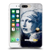 OFFICIAL BRANDALISED BANKSY TEXTURED ART Pierced Eardrum Soft Gel Case for Apple iPhone 7 Plus (C_1FA_19A43)