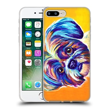 OFFICIAL DAWGART DOGS 2 Shih Tzu Lacey Soft Gel Case for Apple iPhone 7 Plus (C_1FA_1A44E)