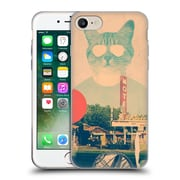 OFFICIAL ALI GULEC WITH ATTITUDE Cool Cat Soft Gel Case for Apple iPhone 7 (C_1F9_1BD71)