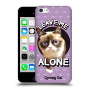 OFFICIAL GRUMPY CAT QUOTES Leave Me Alone Hard Back Case for Apple iPhone 5c (9_E_1CC21)