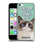 OFFICIAL GRUMPY CAT QUOTES Cute Hard Back Case for Apple iPhone 5c (9_E_1CC1F)