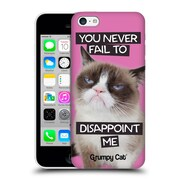 OFFICIAL GRUMPY CAT QUOTES Disappointed Hard Back Case for Apple iPhone 5c (9_E_1CC1D)