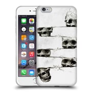 OFFICIAL ALI GULEC WITH A TWIST Skull Soft Gel Case for Apple iPhone 6 Plus / 6s Plus (C_10_1BD6D)