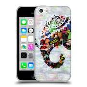 OFFICIAL ARTPOPTART ANIMALS Elephant Soft Gel Case for Apple iPhone 5c (C_E_1A219)