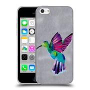 OFFICIAL ARTPOPTART ANIMALS Hummingbird Soft Gel Case for Apple iPhone 5c (C_E_1A21D)