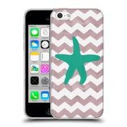OFFICIAL ARTPOPTART CHEVRON Starfish Soft Gel Case for Apple iPhone 5c (C_E_1A222)