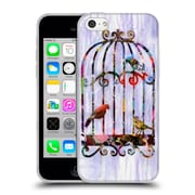 OFFICIAL ARTPOPTART COLLAGE Bird Cage Soft Gel Case for Apple iPhone 5c (C_E_1A236)