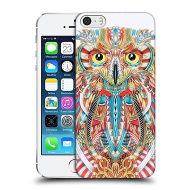 OFFICIAL GIULIO ROSSI ANIMAL ILLUSTRATIONS Eagle Owl Hard Back Case for Apple iPhone 5 / 5s / SE (9_D_1BCA8)