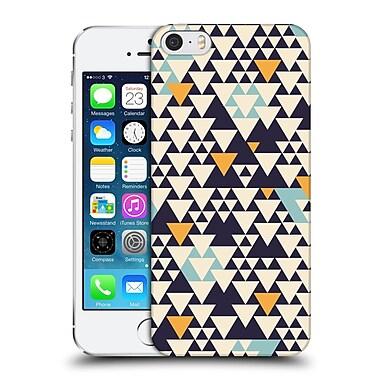 OFFICIAL FLORENT BODART PATTERNS 2 Triangles Hard Back Case for Apple iPhone 5 / 5s / SE (9_D_1AFCC)