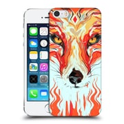 OFFICIAL GIULIO ROSSI ANIMAL ILLUSTRATIONS Fox Hard Back Case for Apple iPhone 5 / 5s / SE (9_D_1BCAA)